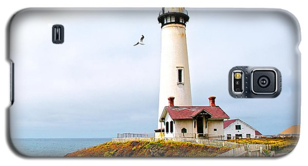 Pigeon Point Lighthouse Galaxy S5 Case by Artist and Photographer Laura Wrede