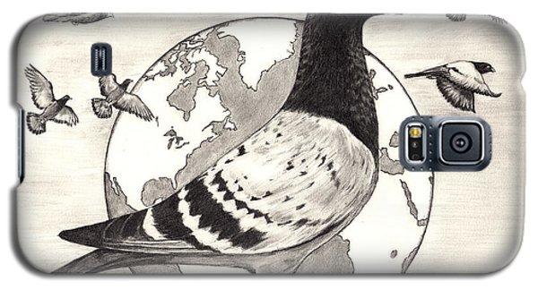 Pigeon Race Galaxy S5 Case
