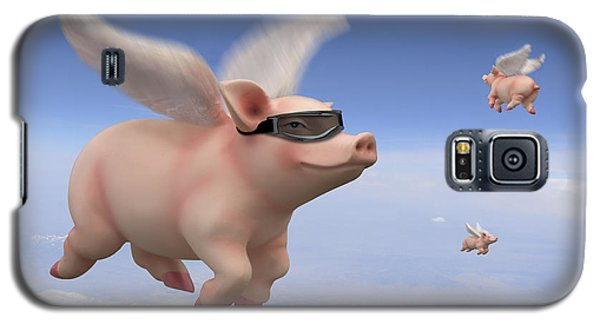 Pigs Fly Galaxy S5 Case by Mike McGlothlen