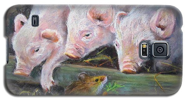Pigs Vs Mouse Galaxy S5 Case by Jieming Wang