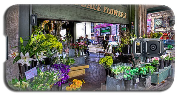Pike Place Flowers Galaxy S5 Case by Spencer McDonald