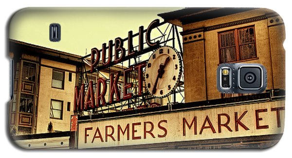 Pike Place Market - Seattle Washington Galaxy S5 Case