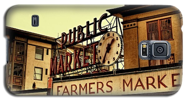 Pike Place Market - Seattle Washington Galaxy S5 Case