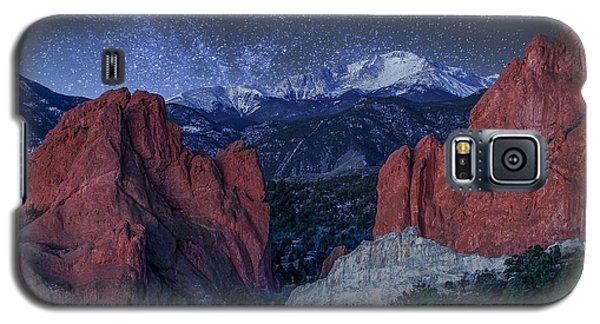 Pikes Peak At Night Galaxy S5 Case