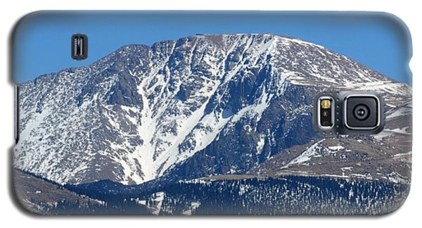Pikes Peak Close-up Galaxy S5 Case by Marilyn Burton