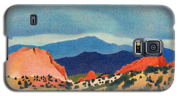 Garden Of The Gods Pikes Peak Galaxy S5 Case