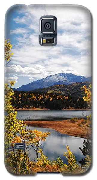 Pikes Peak In Autumn Galaxy S5 Case by Lincoln Rogers