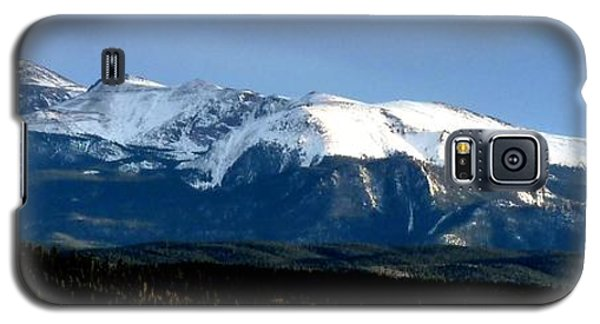 Pikes Peak Panorama Galaxy S5 Case by Marilyn Burton