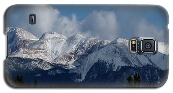 Pikes Peak - Panoramic Galaxy S5 Case by Marilyn Burton