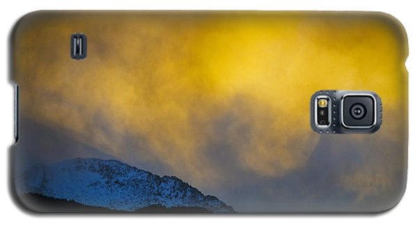Pike's Peak Snow At Sunset Galaxy S5 Case