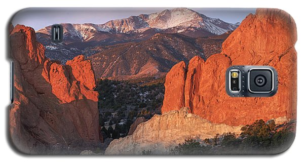 Pikes Peak Sunrise Galaxy S5 Case