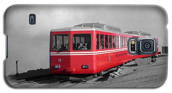 Pikes Peak Train Galaxy S5 Case by Shane Bechler