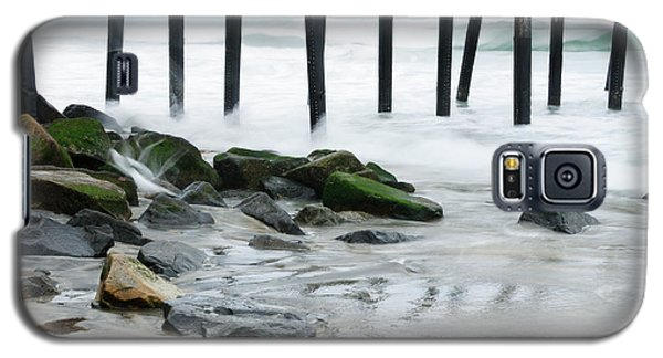 Pilings At Oceanside Galaxy S5 Case