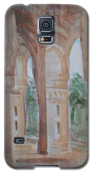 Pillar Of Faith Galaxy S5 Case by Vikram Singh
