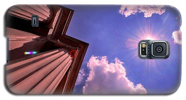 Galaxy S5 Case featuring the photograph Pillars In The Sun by Matt Harang