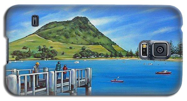 Pilot Bay Mt Maunganui 201214 Galaxy S5 Case by Selena Boron