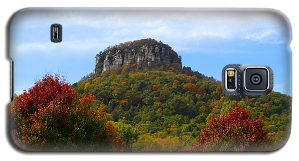 Pilot Mountain From 52 Galaxy S5 Case by Kathryn Meyer