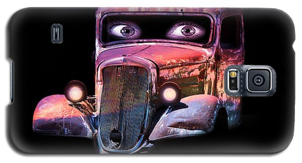 Pin Up Cars - #3 Galaxy S5 Case by Gunter Nezhoda