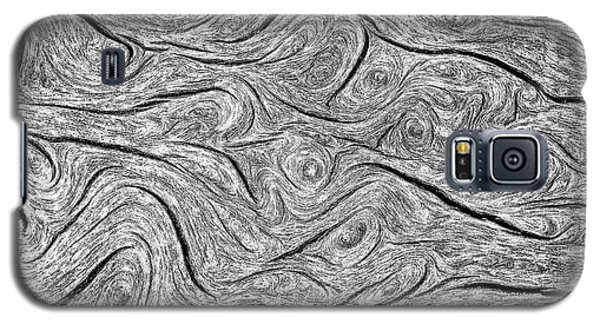 Pine Bark Abstract Galaxy S5 Case by Britt Runyon
