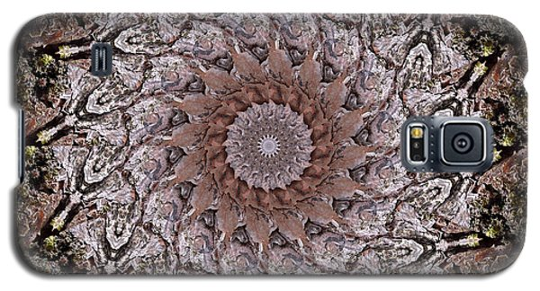 Pine Bark Mandala #1 Galaxy S5 Case