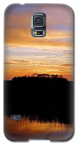 Pine Island Sunset Galaxy S5 Case by Daniel Woodrum