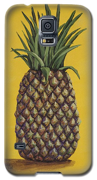 Galaxy S5 Case featuring the painting Pineapple 4 by Darice Machel McGuire