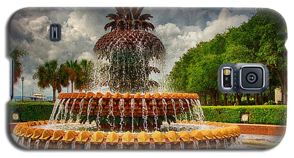 Pineapple Fountain Charleston Galaxy S5 Case