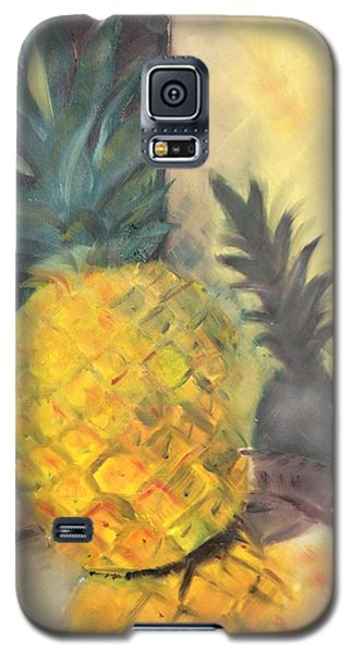 Pineapple On A Silver Tray Galaxy S5 Case