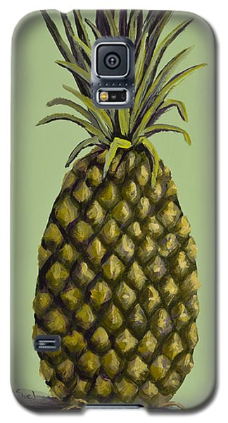 Pineapple On Green Galaxy S5 Case