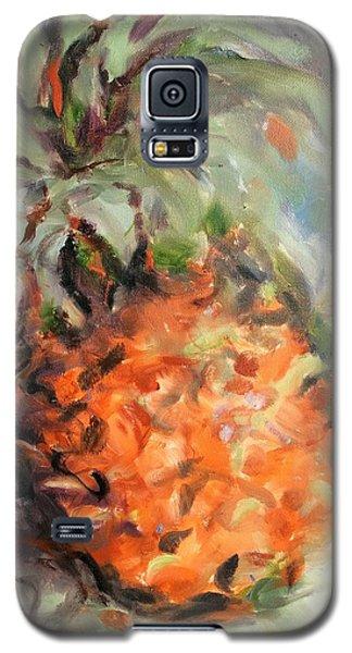 Pineapple Orange Galaxy S5 Case