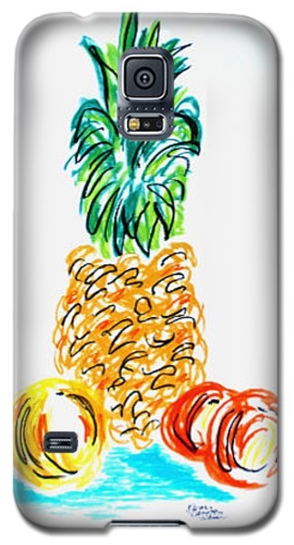 Pineapple Study No. 1 Galaxy S5 Case