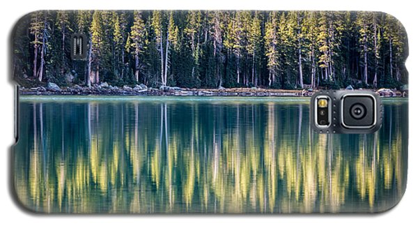 Pines Reflected In Tenaya Lake Galaxy S5 Case