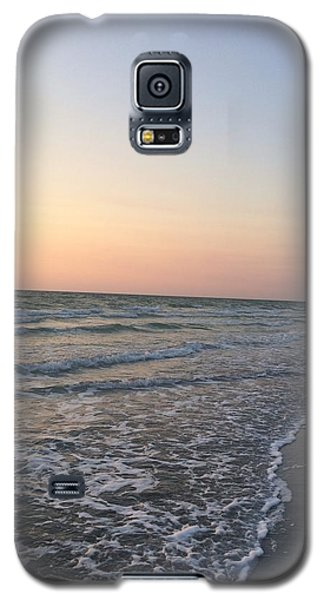 Pink And Blue Shore Galaxy S5 Case
