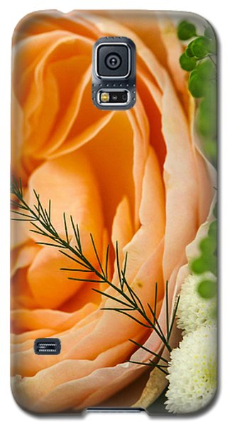 Galaxy S5 Case featuring the photograph Pink And Green by Ross Henton