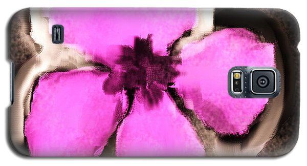Pink And Purple Pansy Galaxy S5 Case