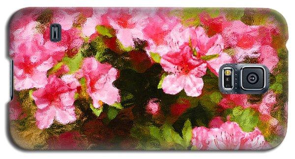 Pink Azealas Galaxy S5 Case