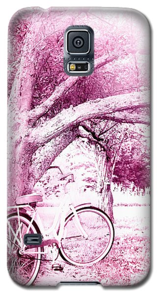 Pink Bicycle  Galaxy S5 Case