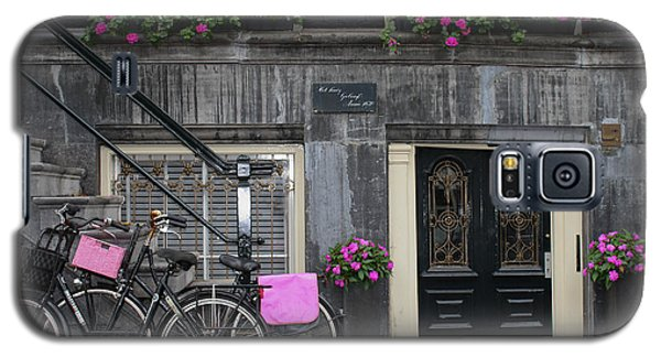 Pink Bikes Of Amsterdam Galaxy S5 Case