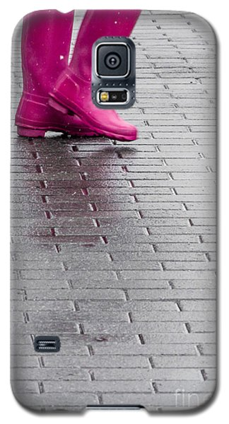 Pink Boots 1 Galaxy S5 Case by Susan Cole Kelly Impressions