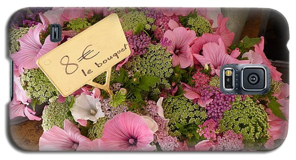 Galaxy S5 Case featuring the photograph Pink Bouquet by Carla Parris