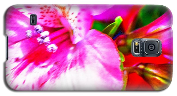 Pink Bouquet Galaxy S5 Case