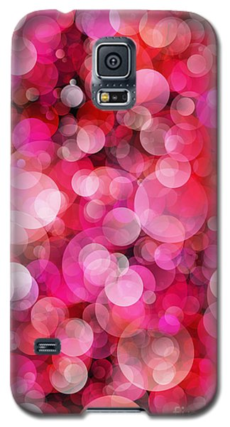 Pink Bubbles Galaxy S5 Case