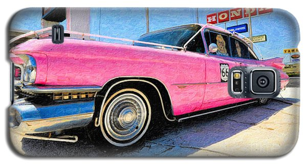 Pink Cadillac Galaxy S5 Case