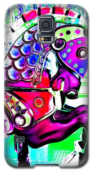 Pink Carnival Carousel Galaxy S5 Case