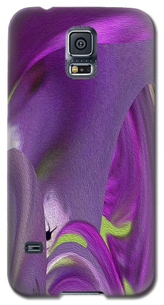 Pink Cavern Galaxy S5 Case by Betty Depee
