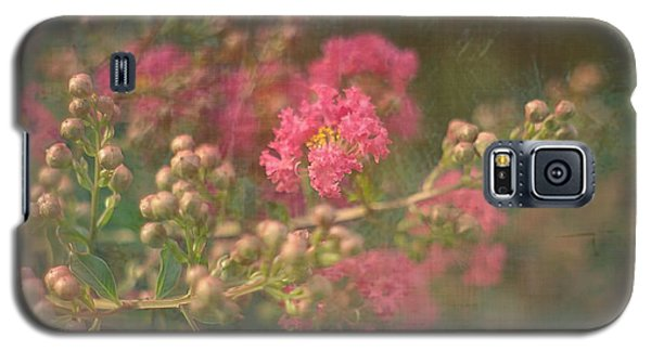 Pink Crepe Myrtle Galaxy S5 Case