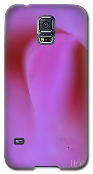 Galaxy S5 Case featuring the photograph Pink Kiss  by John F Tsumas