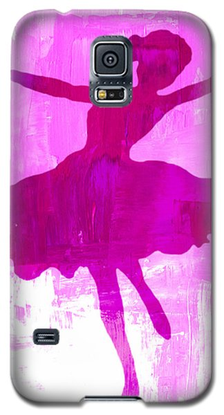 Pink Dancer Galaxy S5 Case by Mindy Bench