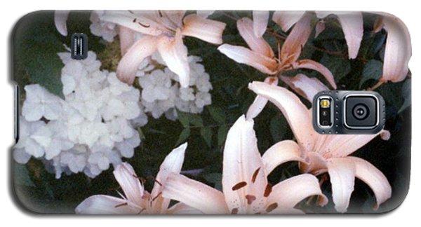 Pink Daylilies Galaxy S5 Case
