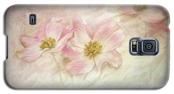 Pink Dogwood Galaxy S5 Case by Linda Blair